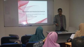 "Bengkel ""Finance for Non Financial Manager"""
