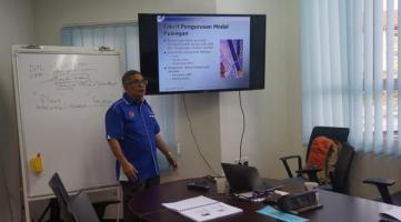 """Kursus """"Effective Financial Management For Entrepreneur"""""""